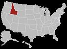 Idaho map