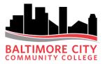 Baltimore City Community College logo